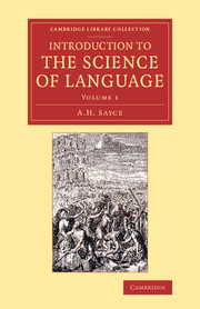 Introduction to the Science of Language
