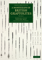 A Monograph of British Graptolites
