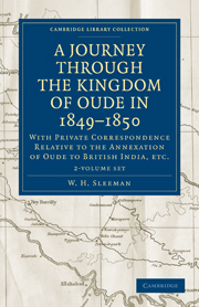 A Journey Through the Kingdom of Oude in 1849–1850