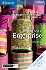 Cambridge IGCSE® Enterprise Coursebook with Cambridge Elevate Edition (2 Years)