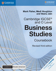 Cambridge IGCSE® and O Level Business Studies Revised Coursebook with Cambridge Elevate Enhanced Edition (2 Years)