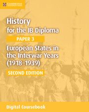 European States in the Interwar Years (1918–1939) Cambridge Elevate Edition (2 Years)
