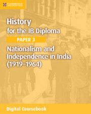 Nationalism and Independence in India (1919–1964) Cambridge Elevate Edition (2 Years)