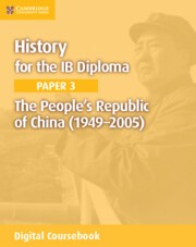 The People's Republic of China (1949–2005) Cambridge Elevate Edition (2 Years)