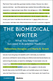 The Biomedical Writer