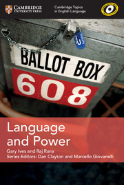 Language and Power