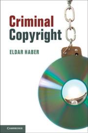 Criminal Copyright