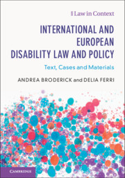 International and European Disability Law and Policy