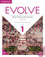 Evolve Level 1 Video Resource Book with DVD