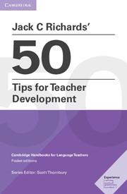 Jack C Richards' 50 Tips for Teacher Development