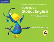 Cambridge Global English Stage 4 Digital Classroom (1 Year)