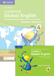Cambridge Global English Stage 4 Teacher's Resource Book with Digital Classroom (1 Year)