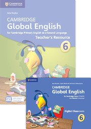 Cambridge Global English Stage 6 Teacher's Resource Book with Digital Classroom (1 Year)