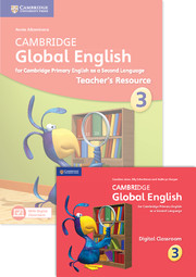 Cambridge Global English Stage 3 Teacher's Resource Book with Digital Classroom (1 Year)