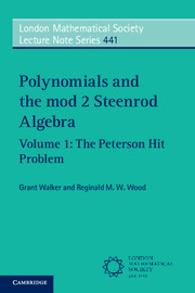 Polynomials and the mod 2 Steenrod Algebra