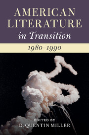 American Literature in Transition, 1980–1990
