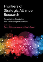 Frontiers of Strategic Alliance Research