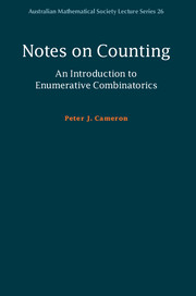 Notes on Counting: An Introduction to Enumerative Combinatorics