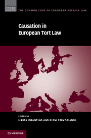 Causation in European Tort Law