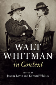 Walt Whitman in Context