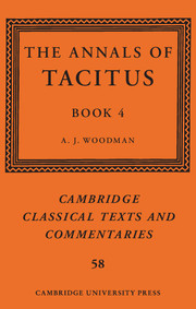 The Annals of Tacitus: Book 4