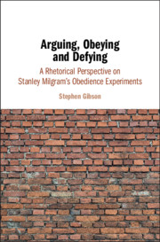 Arguing, Obeying and Defying