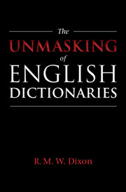 The Unmasking of English Dictionaries