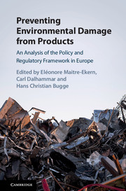 Preventing Environmental Damage from Products
