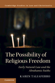 The Possibility of Religious Freedom