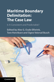 Maritime Boundary Delimitation: The Case Law