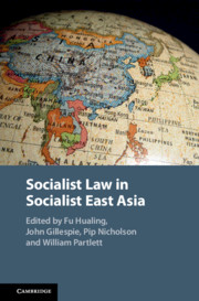 Socialist Law in Socialist East Asia