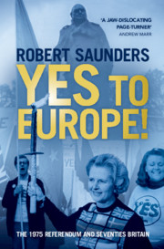 Yes to Europe!