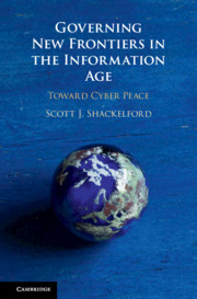 Governing New Frontiers in the Information Age
