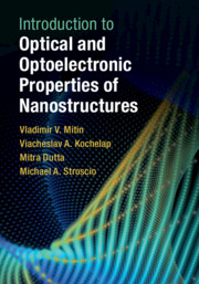 Introduction to Optical and Optoelectronic Properties of Nanostructures