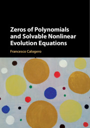 Zeros of Polynomials and Solvable Nonlinear Evolution Equations