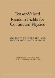 Tensor-Valued Random Fields for Continuum Physics
