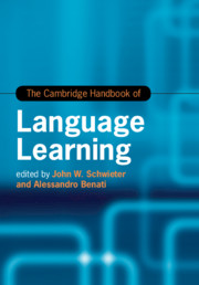 The Cambridge Handbook of Language Learning