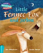 Little Fennec Fox and Jerboa Turquoise Band