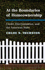 At the Boundaries of Homeownership