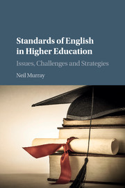 Standards of English in Higher Education