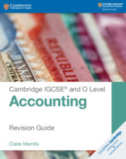 Cambridge IGCSE® and O Level Accounting Revision Guide