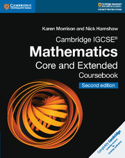 Cambridge IGCSE® Mathematics