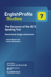 The Discourse of the IELTS Speaking Test