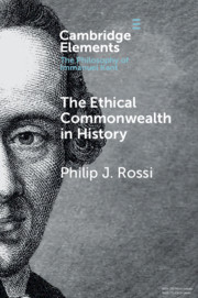 The Ethical Commonwealth in History