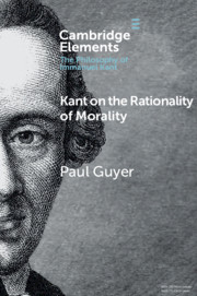 Elements in the Philosophy of Immanuel Kant