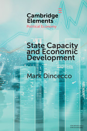 State Capacity and Economic Development