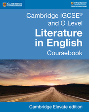 Cambridge IGCSE® and O Level Literature in English Coursebook Cambridge Elevate Edition (2 Years)