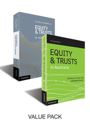 Equity and Trusts in Australia Bundle 2