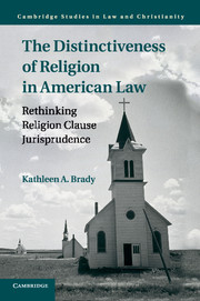 The Distinctiveness of Religion in American Law
