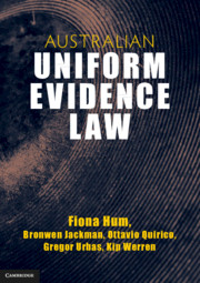 Australian Uniform Evidence Law